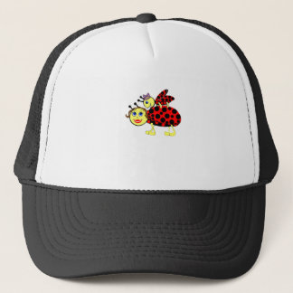 Ladybugs Trucker Hat