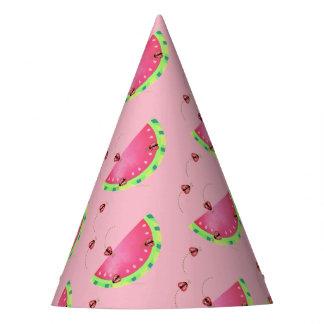Ladybug's Watermelon Party Hat