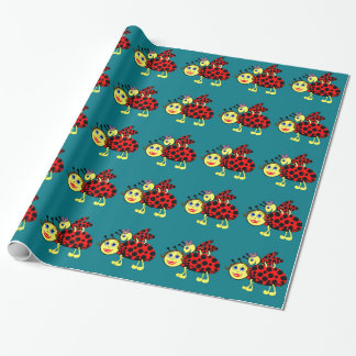 Ladybugs Wrapping Paper