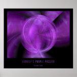 Ladyelf's Purple Passion Poster