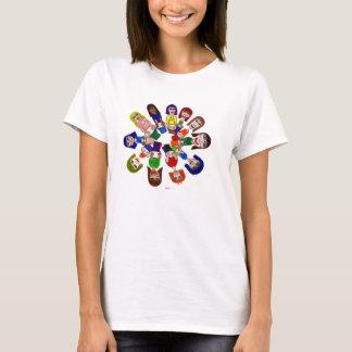 Lady's Drum Circle, T-Shirt