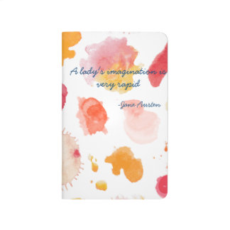 Lady's Imagination Jane Austen Literary Quote Journals