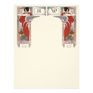 Ladys In A Red Dresses Letterhead