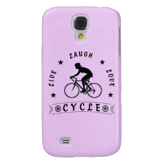 Lady's Live Laugh Love Cycle text (blk)