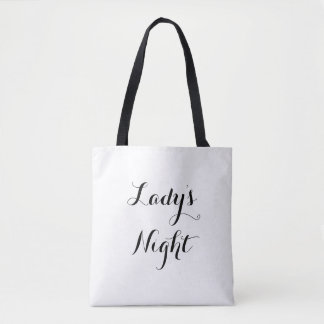 Lady's Night Tote Bag