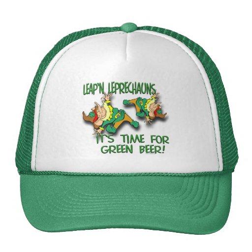 Laep'n Leprechauns... Mesh Hats