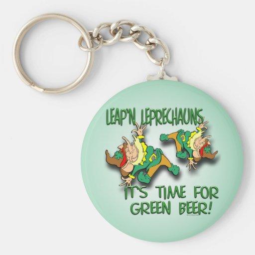 Laep'n Leprechauns... Key Chains
