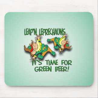 Laep'n Leprechauns... Mouse Pad