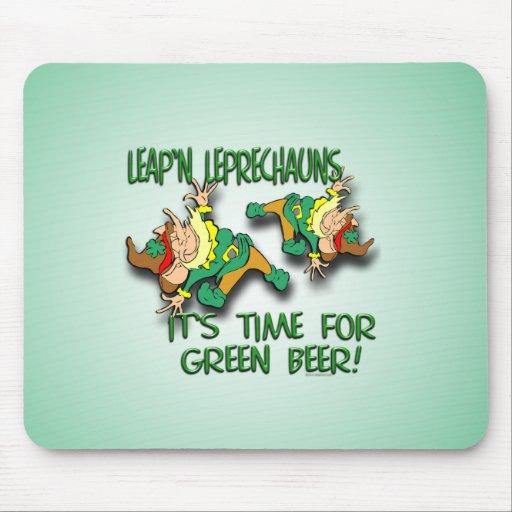 Laep'n Leprechauns... Mousepad