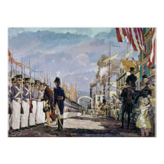 Lafayette and the National Guard by Ken Riley Posters