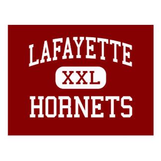 Lafayette - Hornets - Senior - Mayo Florida Postcard