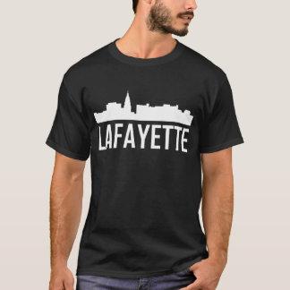 Lafayette Indiana City Skyline T-Shirt