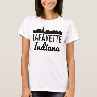 Lafayette Indiana Skyline T-Shirt