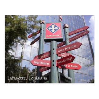 Lafayette, Louisiana Postcard