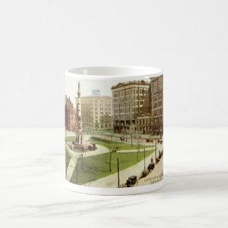 Lafayette Square Buffalo NY 1915 vintage Coffee Mug