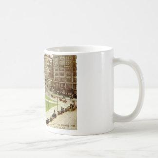 Lafayette Square Buffalo NY 1915 vintage Mug