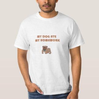 LAFS- mon chien a mangé mon travail Tee Shirts