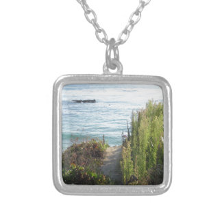 lag811 silver plated necklace