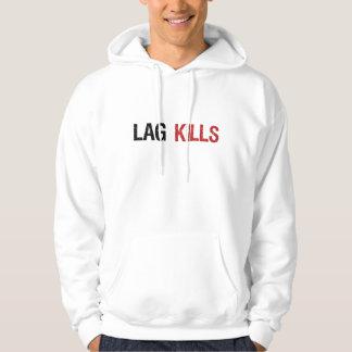 Lag Kills Gamers Hoodie