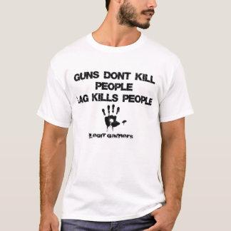 Lag Kills Legit Gamers Tee