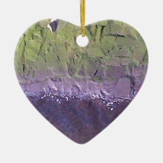 Lagan Ceramic Heart Ornament