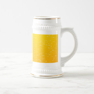 Lager Beer with Tiny Bubbles Background Art Beer Stein