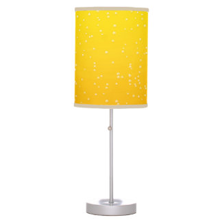Lager Beer with Tiny Bubbles Background Art Table Lamp