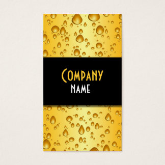Lager Drops Business Card