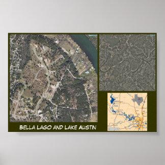 Lago and Lake Austin Poster