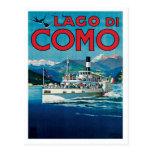 Lago Di Como Italy Vintage Travel Poster Art Postcards