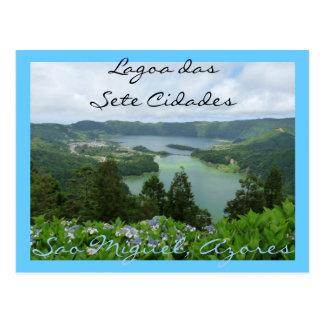 Lagoa das Sete Cidades Postcard