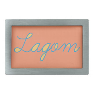 Lagom Sweden Belt Buckle