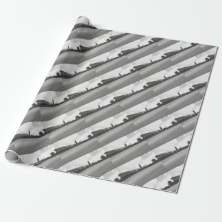 Lagoon Asphalt 1 Wrapping Paper