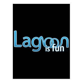Lagoon Is Fun Logo Postcard