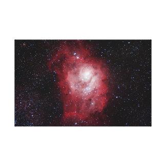 Lagoon Nebula #4 Canvas Print