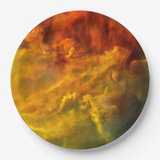 Lagoon Nebula Paper Plate