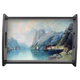 Lagorio - Fjord in Norway Serving Tray