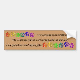 LAGOSI-paw+logo001, Bumper Sticker