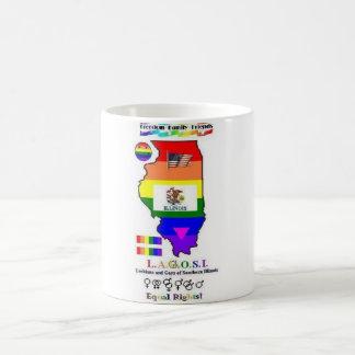 LAGOSI tall coffee mug