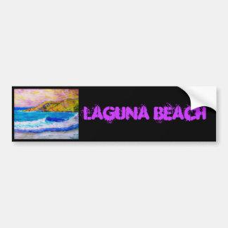 Laguna Beach Car Bumper Sticker