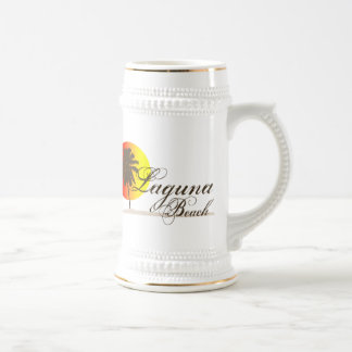 Laguna Beach California Beer Stein
