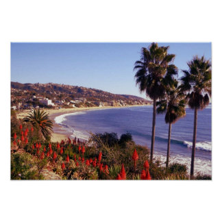 Laguna Beach California, eff01 Poster