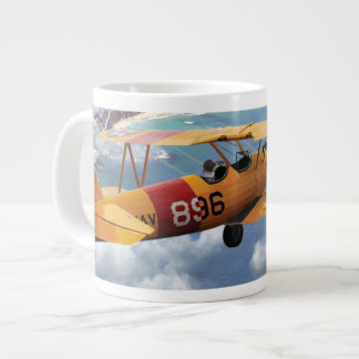 Laguna Beach Fly Over Large Coffee Mug