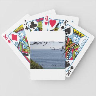 laguna beach surf bicycle playing cards