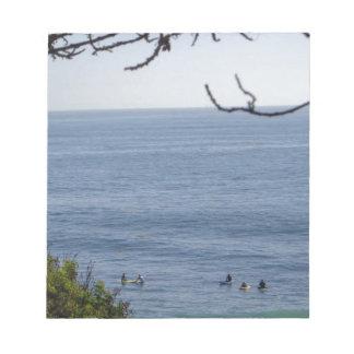 laguna beach surf notepad