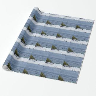 laguna beach surf wrapping paper