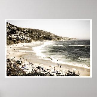 Laguna Beach Vintage Poster