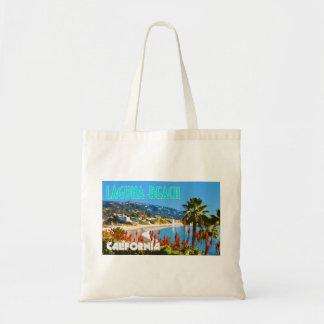 Laguna Beach Vintage Travel Poster Style