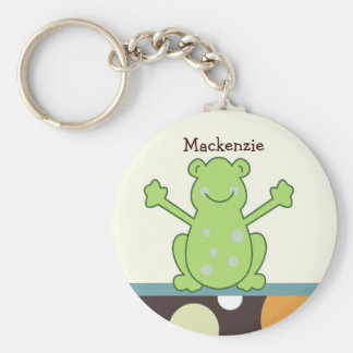 LAGUNA FROG Favor or Name Tag KEYCHAIN