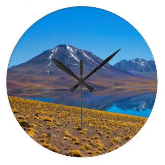 Laguna Miscanti Large Clock